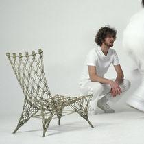 Chauffeuse design original / en fibre d'aramide / par Marcel Wanders