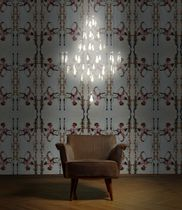 Lustre sur mesure / contemporain / en porcelaine / à LED