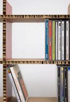 Étagère modulable / contemporaine / en carton