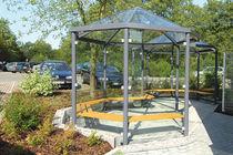 Abri multifonction pour espace public