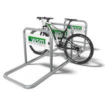 Range-vélo en acier galvanisé / publicitaire / pour espace public