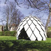 Abri de jardin en contreplaqué / en acier / design original / pour espace public