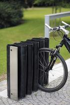 Range-vélo en acier galvanisé / en acier inoxydable / en caoutchouc / design original