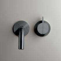 Mitigeur pour lavabo / mural / en inox / en cuivre