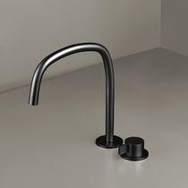 Mitigeur pour vasque / de douche / sur plan / en métal chromé