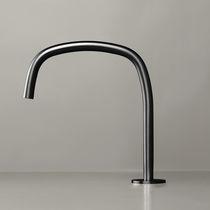 Mitigeur pour vasque / en inox / en cuivre / 1 trou