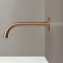 Bec pour vasque en acier inoxydable / en cuivre