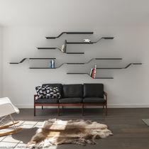 Système d'étagères mural / contemporain / en métal / résidentiel