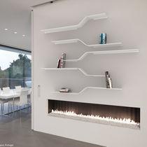 Étagère murale / modulable / design minimaliste / en aluminium