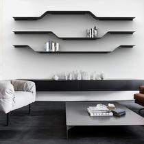 Étagère modulable / design minimaliste / en acier laqué