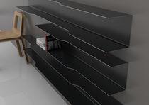 Étagère murale / modulable / contemporaine / en acier