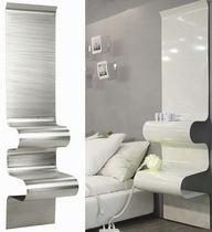 Table de chevet contemporaine / en aluminium / rectangulaire