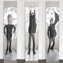 Miroir à poser / mural / déformant / contemporain
