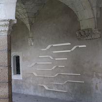 Étagère murale / design original / en métal