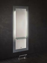 Coiffeuse contemporaine / en bois / en métal / en verre