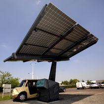Station de recharge pour voiture électrique / solaire
