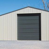Porte industrielle enroulable / en acier / automatique