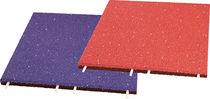 Revêtement de sol en EPDM / en caoutchouc recyclé / pour aire de jeux / en dalles