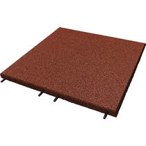 Revêtement de sol en PVC / en caoutchouc recyclé / professionnel / résidentiel