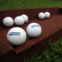 Sol sportif en caoutchouc / pour extérieur / pour parcours de golf