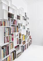 Bibliothèque modulable / contemporaine / en MDF