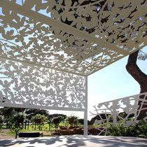 Brise-soleil en aluminium / pour façade / pour véranda / pour abri