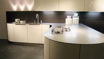 Plan de travail en acier inox / de cuisine