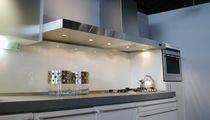 Hotte de cuisine murale / avec éclairage intégré
