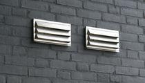 Grille de ventilation en métal / rectangulaire / pour cuisine