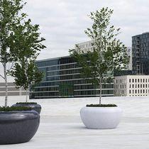 Jardinière en béton / en pierre naturelle / en marbre / en granite