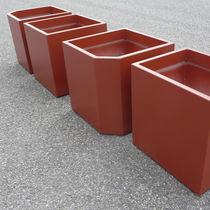Jardinière en fibro-ciment / contemporaine / pour espace public