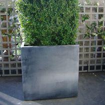 Jardinière en fibro-ciment / en zinc / carrée / rectangulaire