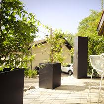 Jardinière en fibro-ciment / carrée / rectangulaire / sur mesure