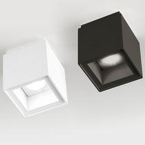 Spot de plafond / à LED / carré / en aluminium