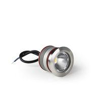 Spot à encastrer / à LED / rond / en aluminium