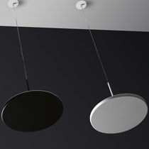 Lampe suspension / contemporaine / en fonte d'aluminium / en méthacrylate
