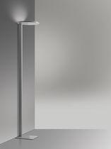 Lampe de sol / contemporaine / en fonte d'aluminium / en méthacrylate