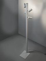 Lampe sur pied / contemporaine / en aluminium / blanche