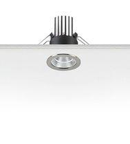 Downlight encastrée / à LED / ronde