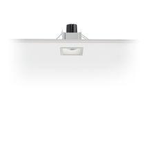 Spot à encastrer / à LED / carré / en métal