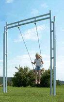 Balançoire en métal / pour parc de jeux