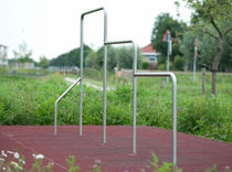 Barre de traction en métal / pour aire de jeux / triple