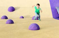 Parcours d'obstacles pour aire de jeux