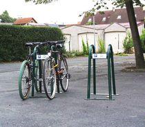 Appui-vélo au sol / en acier / pour espace public