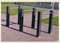 Appui-vélo au sol / pour espace public
