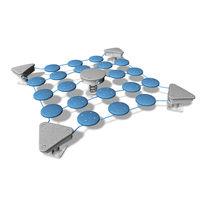 Parcours d'obstacles pour aire de jeux / pour installation sportive