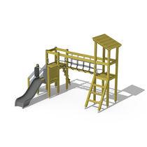Structure de jeu en bois / pour aire de jeux