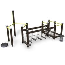 Parcours d'obstacles pour installation sportive