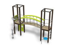 Structure de jeu en bois / pour aire de jeux / modulaire