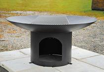 Barbecue à charbon / à bois / en acier / professionnel